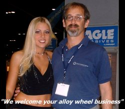 Wheel Collision Center,     Photo of Daryl L. Robbins, President