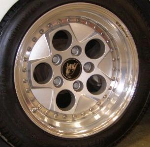 new refinished lamborghini countach wheels rims wheel. Black Bedroom Furniture Sets. Home Design Ideas