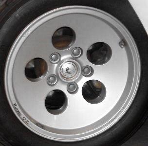 New Refinished Lamborghini Countach Wheels Rims Wheel Collision