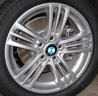 11-17 BMW X3 XDRIVE 28I 18x8 Contoured Triple 5 Spoke SILVER STYLE 368