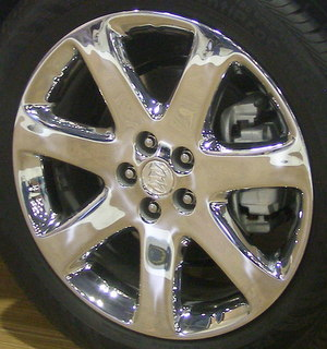 13-20 BUICK ENCORE LEATHER PREMIUM 18x7 Contoured 7 Spoke CHROME OPT RV8