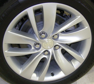 14-17 BUICK REGAL PREMIUM II 18x8 Contoured Offset 5 U-Spoke SILVER, OPT PXR