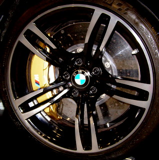 16-19 BMW M2 19x9 Double 5 Spk w Smoke Mach'd Ends A SMOKE/BLACK FRONT 437M