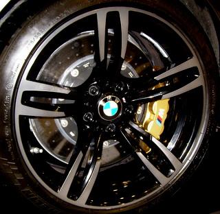 16-19 BMW M2 19x10 Double 5 Spk w Smoke Mach'd Ends A SMOKE/BLACK REAR 437M