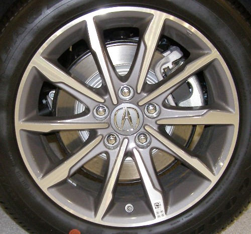 H 71852 ACURA TLX 2.4L 17x7.5 Thin Alternating Flared 10
