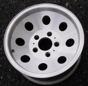 78-91 CHEVROLET TRUCK 4X2 15x7 Dished 8 Hole 5x5 Bolt Pattrn 4X2 MACHINED