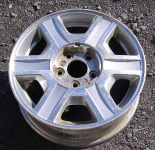H 3417 Mercury Villager Estate 16x6 6 Spoke W Raised Edges