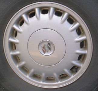 97-01 BUICK REGAL LS 15x6 Soft Straight 16 Slot SILVER, OPT PH6