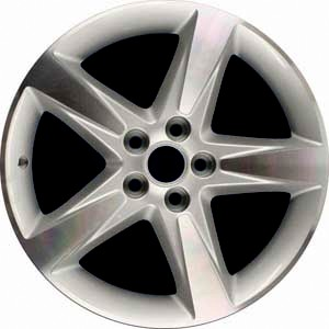 12-13 BUICK LACROSSE 19x8.5 5 Spoke, Pointed Raised Face MACH/SILVER, DLR ACCY