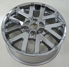 08-15 BUICK ENCLAVE 19x7.5 Contoured Creased 5 V-Spoke CHROME, DLR ACCSRY