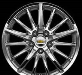 05-09 BUICK LACROSSE 17x6.5 Thin 15 Spoke w 10 Back Spokes DEALER ACCESSORY