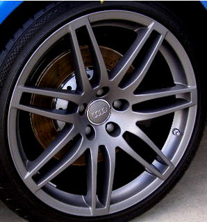 Audi Anthracite Wheel Paint Code