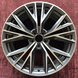 15-18 AUDI A7 S-LINE PRESTIGE 20x9 Flared Double 5 Y-Spoke MACHINE/GREY, OPT CQ2