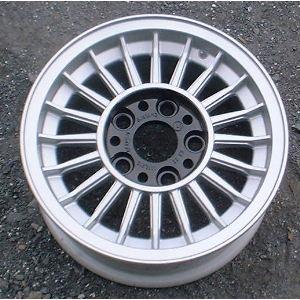72-79 BMW 3.0 14x6 Thin Radial 20 Spoke 1118216 A 14X6 SILVER