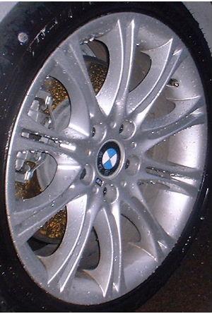 00-06 BMW 320I/323I/325I/330I 18x8 Thin Split 10 Spoke 7896470 SILVER FRONT - ST 135