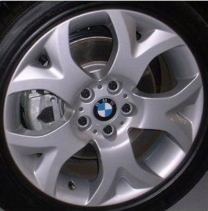 04-10 BMW X3 18x8 5 Front Y-Spoke 3401202 SILVER - STYLE 114