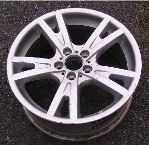 04-10 BMW X3 19x8.5 Flat Webbed Split 5 Spoke 6765026 SILVER FRONT - ST 150