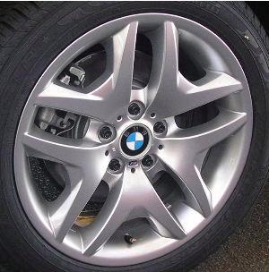 04-10 BMW X3 XDRIVE30I 18x8 M Contoured Soft Double 5 Spoke BRILLNT FRONT - ST 192