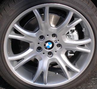 04-10 BMW X3 3.0 SI 19x8.5 Thin Dished 7 Y-Spoke 3417267 B BRILLNT FRONT - ST 191