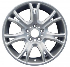 04-10 BMW X3 3.0 SI 19x8.5 Thin Dished 7 Y-Spoke 3417267 A SILVER FRONT - ST 191