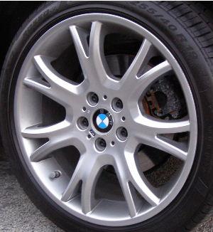 04-10 BMW X3 3.0 SI 19x9 Thin Dished 7 Y-Spoke 3417268 B BRILLIANT REAR - ST 191