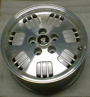 94-95 JAGUAR XJ6 16x7 7 Triple Holes with Open Lugs MACHINE/SILVER