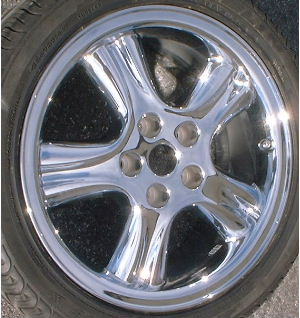 98-99 JAGUAR XJ8/XJR 18x8 Wide Grooved Soft 5 Spoke 18
