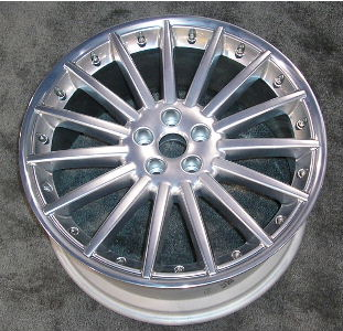 04-07 JAGUAR XJ8/XJR 20x9 2Pc 15 Spoke without SS Rim BRILLIANT - SEPANG
