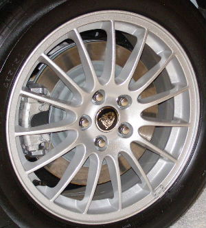 08-09 JAGUAR XJ 18x8 Thin 15 Spoke w Ledge Slots TUCANA - BRILLIANT