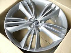 10-18 JAGUAR XJ 20x10 Triple 5 Spoke MC/ARGENT MATAIVA REAR