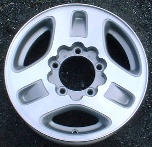 96-97 GEO TRACKER 15x5.5 Wide Flat Notched 3 Spoke GREY