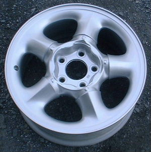 96-99 OLDSMOBILE EIGHTY-EIGHT 16x7 Soft Peaked 5 Spoke SILVER