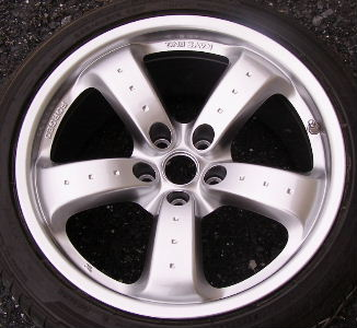06-09 NISSAN 350Z 18x9 Convex Fingerlike 5 Spoke w 3 Dots RAYS FORGED FRONT