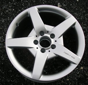 05-07 MERCEDES CLK500/CLK550 17x7.5 AMG Front Webbed 5 Spoke 209 CH - BRILLIANT