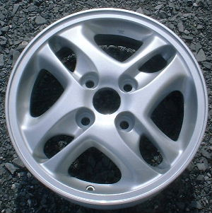 96 MITSUBISHI GALANT 15x6 Offset Soft Double 4 Spoke A FINISH