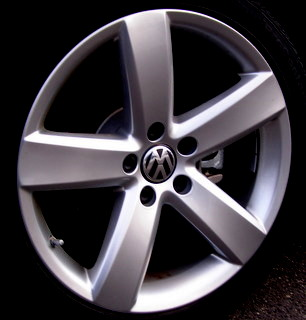 09-13 VOLKSWAGEN PASSAT CC LUX PLATINUM 18x8 Flat Soft 5 Spoke BRILLIANT DAYTONA