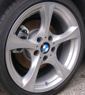 H 71362 Bmw Z4 Sdrive30i 35i 19x9 Thin Angular Grooved 5