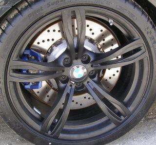 H 71563 Bmw M5 20x10 Thin Bowed Double 5 Spoke Wheel