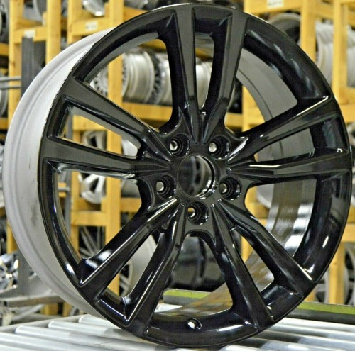 18-20 ACURA TLX A-SPEC 19x8 Pointed Double 5 Spoke A BLACK