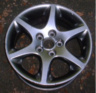 01-05 LEXUS GS300 SPECIAL EDITION 16x7.5 Thin Flat Webbed 6 Spoke C SMOKE BRILLIANT