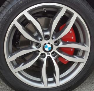 15-17 BMW X3 XDRIVE28D/28I/35I 19x9.5 Bowed Notched 5 V-Spoke MACH/GREY REAR ST 622